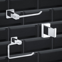 Veneto Novara 3 Piece Bathroom Accessory Pack