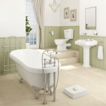 1700 Park Royal Freestanding Slipper Bath Traditional Complete Bathroom Suite