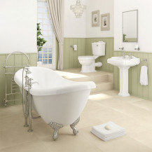 Victoriana Double ended Freestanding Traditional Complete Bathroom Suite