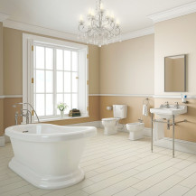 Traditional Park Royal 1700 Slipper Bath Complete Bathroom Suite