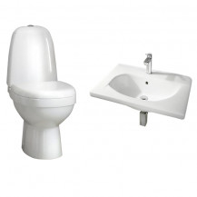 Cova & Trento Wall Hung Cloakroom Suite