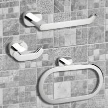 Floe 3 Piece Bathroom Accessory Pack