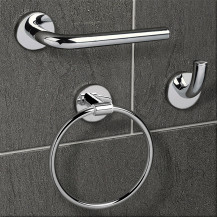 Classic 3 Piece Bathroom Accessory Pack