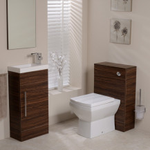 Aspen Walnut Tabor 410 Cloakroom Pack