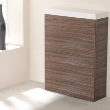 TD Walnut 600 WC Unit
