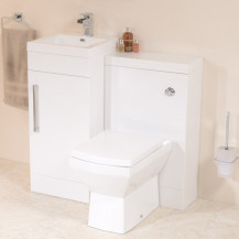 TD40 Luxury White Combination Unit with Tabor™ Pan