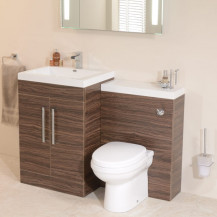 TD60 Luxury Walnut Combination Unit with Impressions Pan