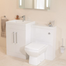 TD60 Luxury White Combination Unit with Tabor™ Pan