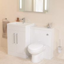 TD60 Luxury White Combination Unit with Impressions Pan