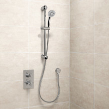 EcoStyle Concealed Dual Control Shower Valve with Outlet and Primo Kit