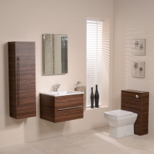 Aspen™ 600 Walnut Bathroom Furniture Pack