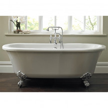 1700 x 750 Traditional Roll Top Freestanding Bath