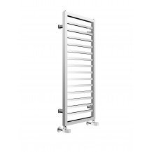 Julian 1000 x 450mm Square Chrome Heated Towel Rail