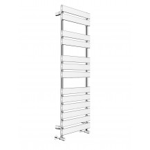 Juliet 1422 x 500mm Flat Chrome Heated Towel Rail