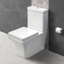 Montana Close Coupled Toilet and Seat