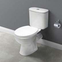 Venice Close Coupled Toilet and Seat