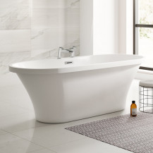 Venice 1670 x 730 Double Ended Luxury Freestanding Bath