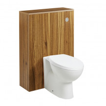 Darcey Oak 600 WC Unit with Tampa Back to Wall Toilet