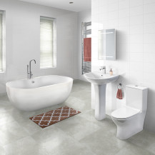 Lisbon 1650 Indiana Freestanding Bathroom Suite