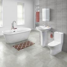 Venice 1670 Indiana Freestanding Bathroom Suite