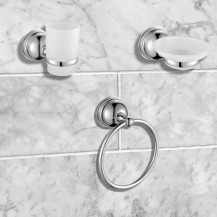 Middleton 3 Piece Bathroom Accessory Pack