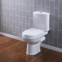 Albury Short Projection Close Coupled Toilet