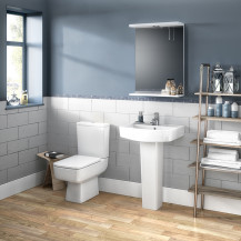 Madison 520mm One Tap Bathroom Suite