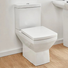 Tabor Close Coupled Toilet with Pan Connector