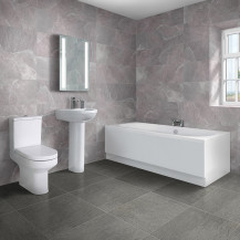 Duo 1600 x 700 Double Ended Bath with Maine Suite