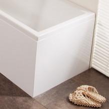 Windsor / Cuba / Aspen White L Shape Bath MDF End Panel