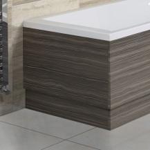 Austin 750mm Grey Avola End Bath Panel