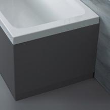 Austin 750mm Grey Gloss End Bath Panel