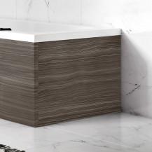 Austin 700mm Grey Avola L-Shaped End Bath Panel