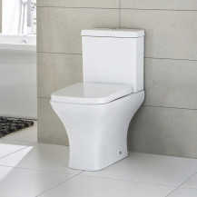 Chicago Close Coupled Toilet with Soft Close Seat