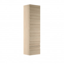 Boston 400 Sandy Oak Wall Mounted Storage Unit