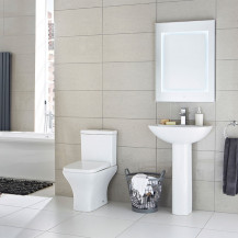Chicago Bathroom Suite with Soft Close Seat