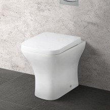 Chicago Back to Wall Toilet with Soft Close Seat