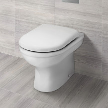 Albury Back to Wall Toilet with Seat