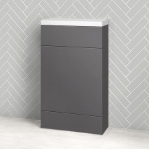 Austin 500mm Grey Gloss WC Unit