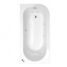 1600 x 800 Micro™ Luxury Left Handed 11 Jet Whirlpool Bath