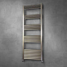 Venetian 1400 x 500 Aluminium Heated Towel Rail