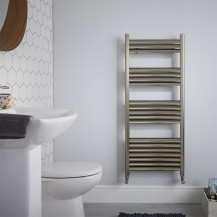 Venetian 1200 x 500 Aliminium Heated Towel Rail