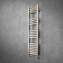 Venetian 1200 x 300 Aluminium Heated Towel Rail