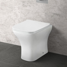 Chicago Back to Wall Toilet with Soft Close Slim Seat