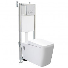 Bali Wall Hung Toilet with Fixing Frame