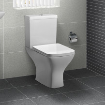 Austin Short Projection Toilet with Soft Close Seat