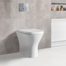 Portland Back to Wall Toilet with Soft Close Seat