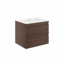 Boston 600 Forest Oak Wall Mounted Vanity Unit