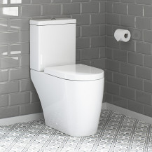 Newport Close Coupled Toilet with Soft Close Seat