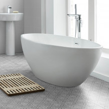 Alvor 1500 x 600 Matt Finish Oval Freestanding Bath